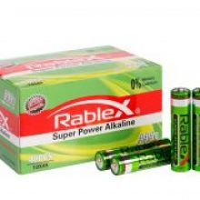 Батарейки Rablex Super Power Alkaline AAA